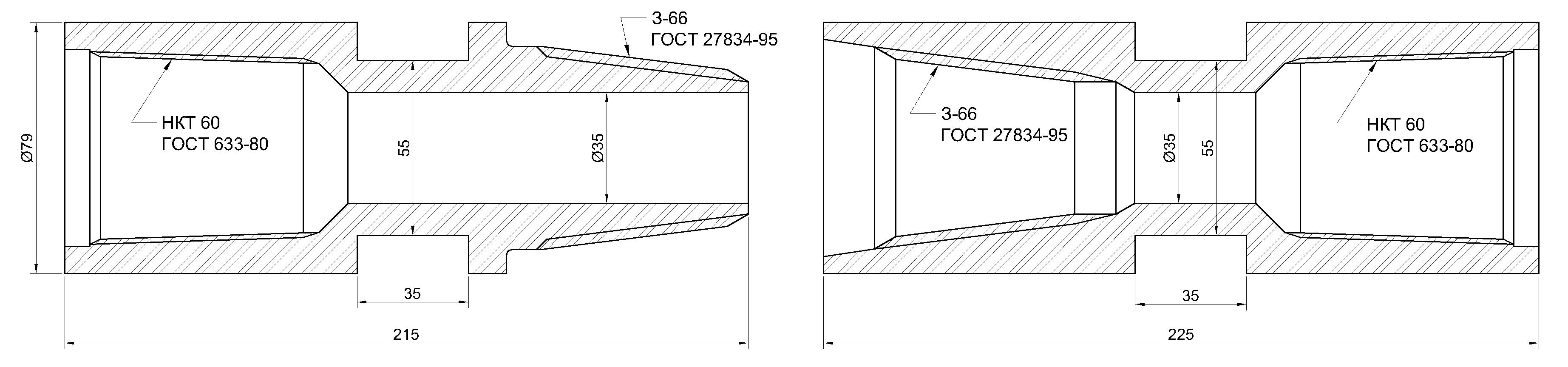 Замки для бурильных труб чертежи